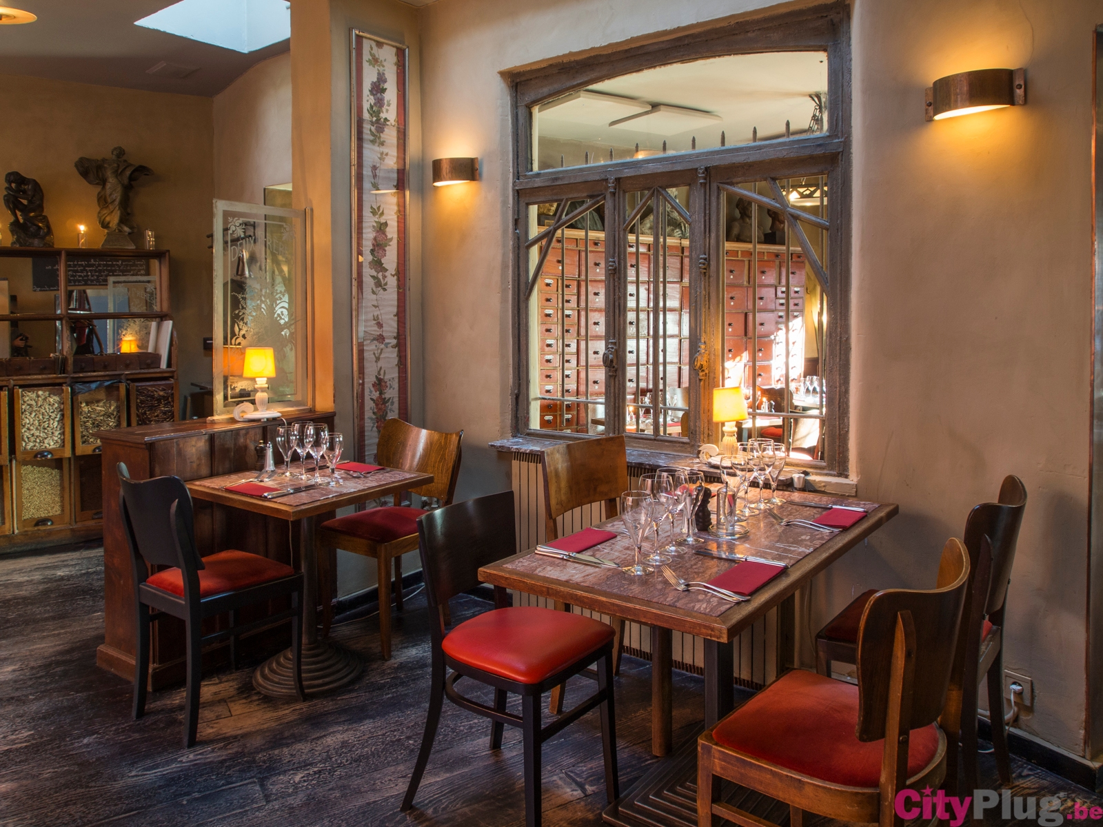 Les deux fr res for Restaurant cuisine francaise