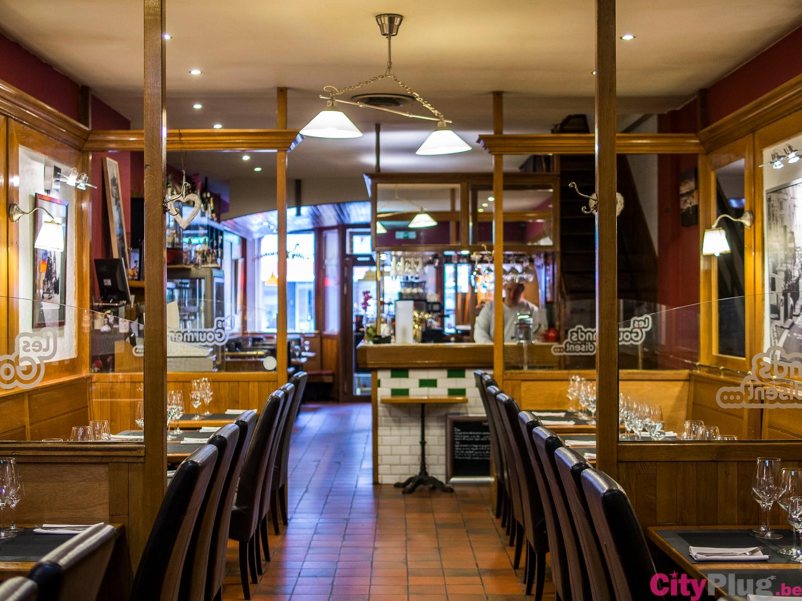 Les gourmands disent - Restaurant cuisine belge bruxelles ...